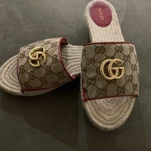 Gucci Slides worn once